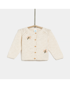 Jachetă tricotată bebe 6 luni/4 ani