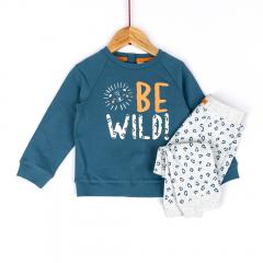 Bluză + pantaloni bebe 6 luni/4 ani