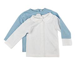 Setx2 tricou nou născut 0/9 luni
