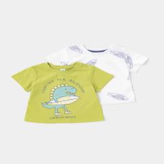 Setx2 tricou bebe 6 luni/4 ani