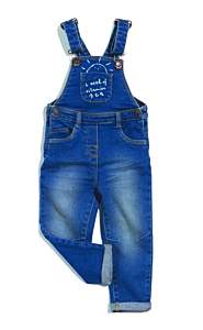Salopetă jeans bebe 6 luni/4 ani