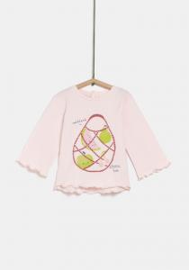 Tricou mânecă lungă bebe 3 luni/ 4 ani