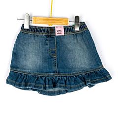 Fustă jeans bebe 9 luni/4 ani