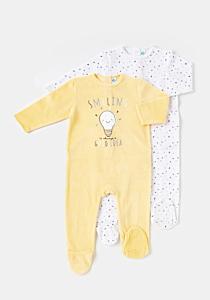 Set 2 salopete bebe 3/36 luni