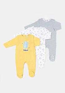 Set 3 salopete bebe 3/36 luni