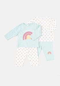 Set 2 pijamale bebe 9/36 luni