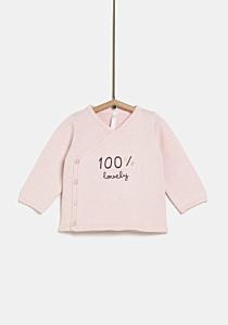Jacheta tricotata nou nascut 0/9 luni
