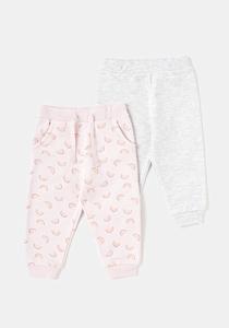 Set 2 pantaloni sport bebe 6 luni/4 ani
