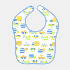 Baveta bebe bleu Tex Baby