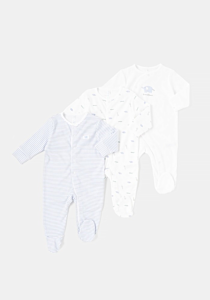 Set 3 salopete nou-nascut 0/12 luni