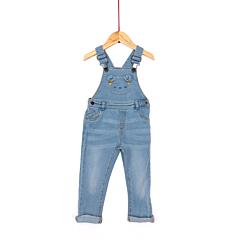 Salopeta jeans bebe 6 luni/4 ani