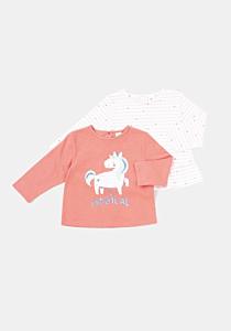 Set 2 tricouri bebe 3 luni/4 ani