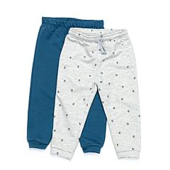 Set 2 pantaloni bebe 6 luni/4 ani