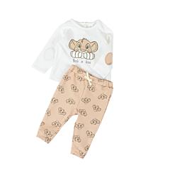 Set tricou si pantaloni nou nascut 0/12 luni