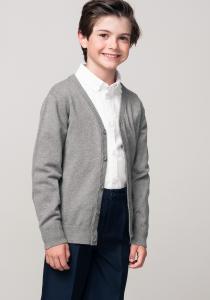 Jachetă tricotată băieți 3/14 ani