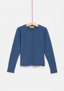Jachetă tricotată fete 3/14 ani
