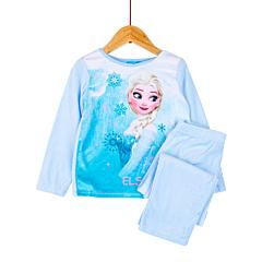 Pijama mânecă lungă fete 2/8 ani