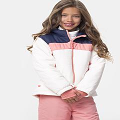 Jachetă ski fete 3/16 ani