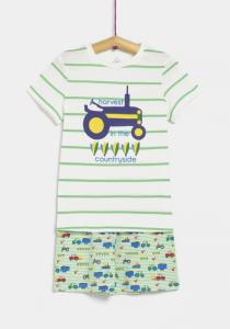 Pijama băieți 3/8 ani