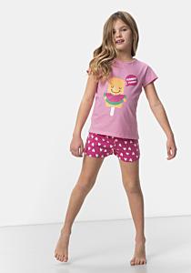 Pantalon pijama fete 2/16 ani