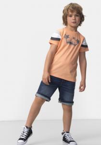Bermude jeans băieți 3/14 ani