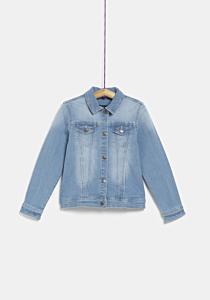Jachetă jeans fete  3/14 ani