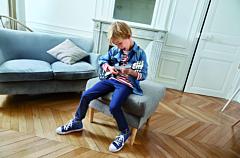Cămașă jeans băieți 2/14 ani