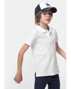 Tricou polo băieți 3/14 ani
