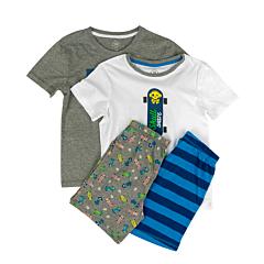 Set 2 pijamale băieți 3/14 ani