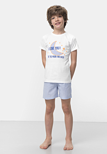 Pijama baieti 2/12 ani