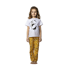 Pijama fete Family 3/14 ani