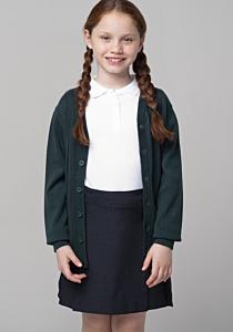 Jacheta tricotata fete 2/8 ani