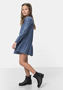 Rochie jeans fete 3/14 ani