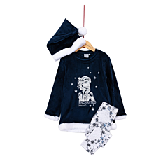 Pijama maneca lunga fete 3/8 ani