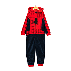 Combinezon baieti 3/12 ani Spiderman