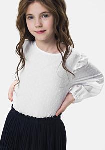 Bluza maneca lunga fete 3/14 ani
