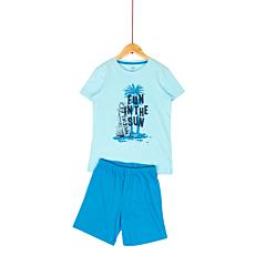 Pijama maneca scurta baieti 9/14 ani