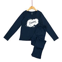 Pijama maneca lunga fete 9/14 ani