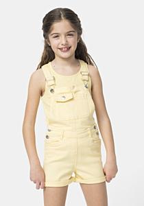 Salopeta jeans fete 3/14 ani