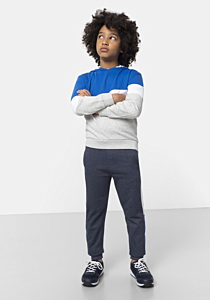 Pantaloni sport baieti 3/14 ani
