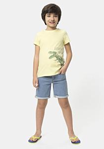 Tricou maneca scurta baieti 2/8 ani