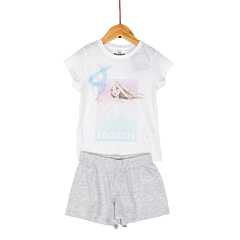 Pijama Disney maneca scurta fete 3/8 ani