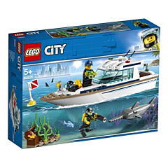 LEGO City: Iaht pentru scufundari 60221