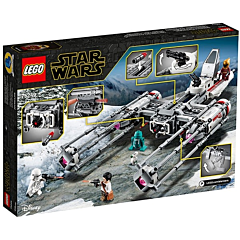 LEGO Star Wars Y-Wing Starfighter al rezistentei 75249