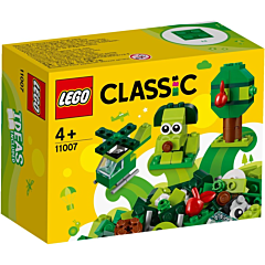 LEGO Classic Caramizi Verzi 11007