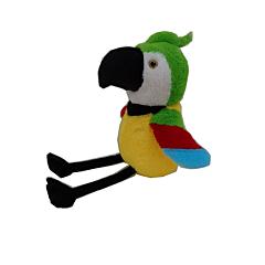 Papagal de plus sezand, 48 cm, Multicolor