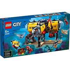 LEGO City Baza de explorare a oceanului 60265