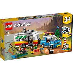 LEGO Creator Vacanta în familie cu rulota 31108