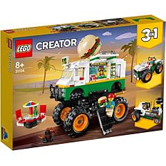 LEGO Creator Camion gigant cu burger 31104