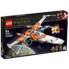 LEGO Star Wars X-wing Fighter al lui Poe Dameron 75273